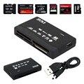Все в Одном Устройство Чтения Карт Памяти USB Внешний SDHC SD Мини Micro M2 MMC XD CF Черный Высокое Качество