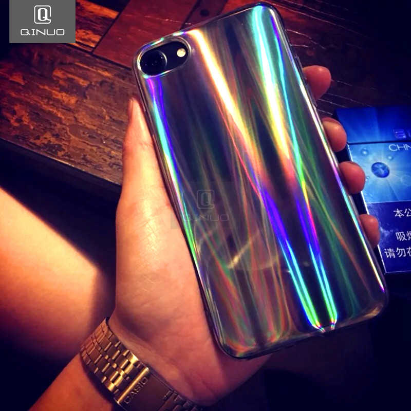 096190227e5d7 Detail Feedback Questions about QINUO Glossy Holographic Iridescent ...