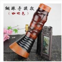 26 35cmsmall талии кальян бамбука ведро трубы двойной фильтр Кальян Портативный Бамбуковый стержень трубка для здоровья