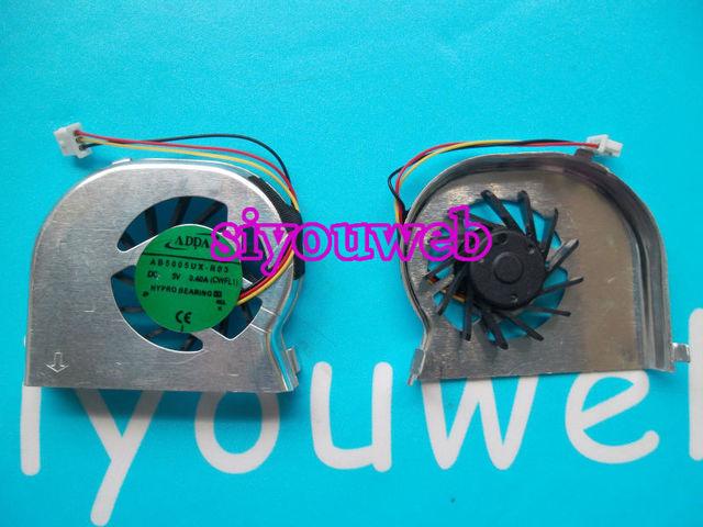 Frete grátis novo para lenovo ideapad s10-2 s10-2c s10-3c series cpu laptop cooling fan