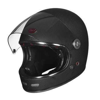 BEON official store Full Face Carbon Fiber helmet Motocross Motorcycle Helmet Men Women Full cover Ultralight Moto Helmets b-510 - DISCOUNT ITEM  0% OFF All Category