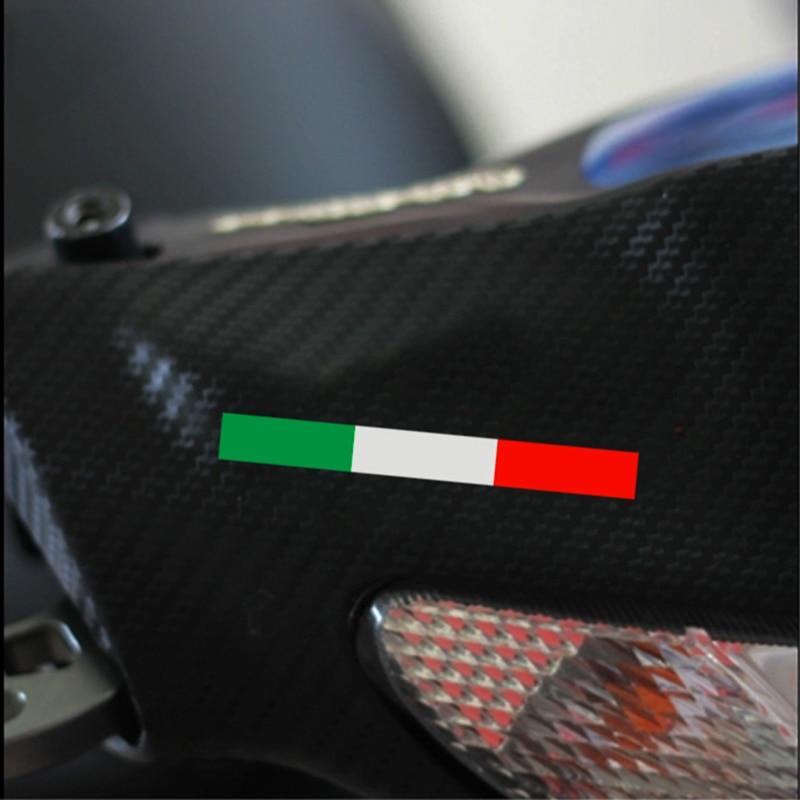 Italy flag design motorcycle automobile decor vinyl for Automobile decoration accessories