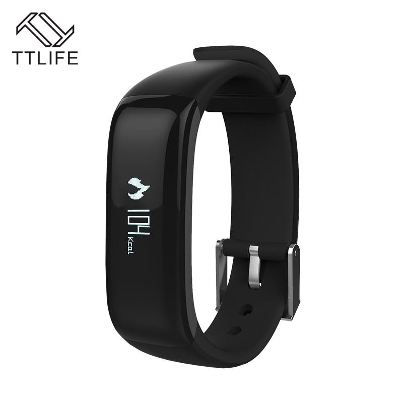 imágenes para TTLIFE IP67 A Prueba de agua Gimnasio Heart Rate Monitor Podómetro Inteligente Pulsera bluetooth Inteligente pulsera banda Para xiaomi iPhone