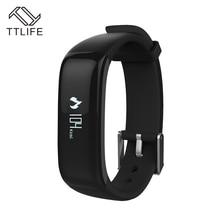 TTLIFE IP67 Водонепроницаемый Smart Браслет Heart Rate Мониторы шагомер Фитнес Bluetooth Smart Браслет Для Xiaomi iphone