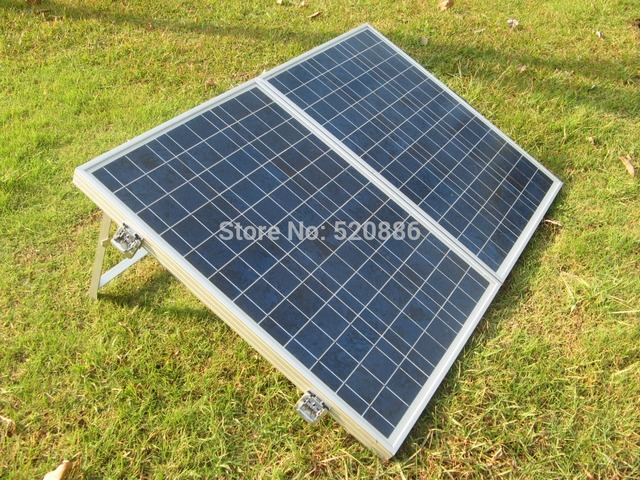 Au Stock No Tax 100W Folding Solar Panel Portable Solar Panel, Solar Charger for 12v Battery Solar Generators