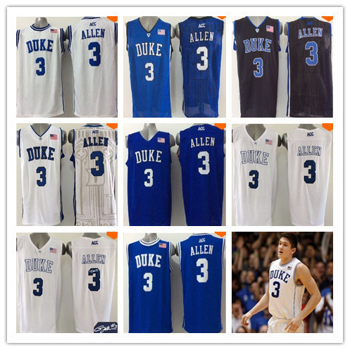 67ce248c7c39 wholesale cheap 2015 Newest 3 Grayson Allen Jersey Duke Blue Devils College  Basketball Jersey Black White ACC Stitched Qualit
