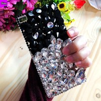 For Honor Note 8 Diamond Case 2018 New Lady Girl Women Rhinestone Jewelled Crystal Case For