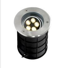 IP68 светодиодный подземный свет 5*2 Вт светильник сада Водонепроницаемый Наружное освещение 220 V 110 V 10 W путь вкапываемый дворовый светильник Ландшафтный прожектор узконаправленного света