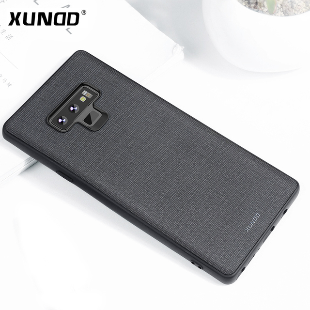 size 40 0771a 26196 US $11.04 14% OFF|XUNDD Luxury Leather Texture Phone Case for Samsung  Galaxy Note 9 Magnetic Case Support Wireless Charging Ultra thin-in Fitted  Cases ...