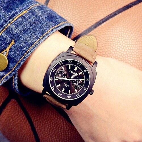 YAZOLE Спортивные Часы Женщины Дамы Бренд Известный Роскошные Женские Часы Кварцевые Часы Наручные Кварцевые часы Montre Роковой Relógio Feminino