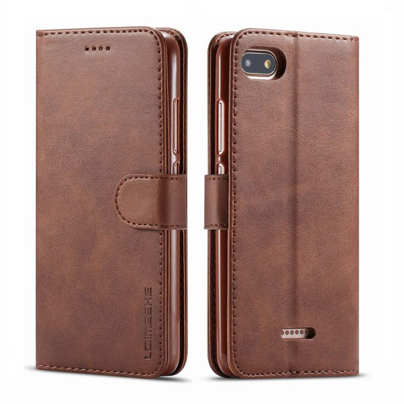 Luxury Cases For Xiaomi Redmi 6a Plain Magnetic Flip With Card Slot Wallet Retro Phone Leather Cover Case On Redmi 6a Coque BagsLuxury Cases For Xiaomi Redmi 6a Plain Magnetic Flip With Card Slot Wallet Retro Phone Leather Cover Case On Redmi 6a Coque Bags