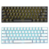 RK61 Wireless Bluetooth USB Wired Mechanical Gaming Keyboard Backlight Gaming RK61 Keyboard Ergonomics Office Computer Component|Keyboards|   -
