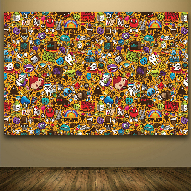 Buy pop art wall stickers and pictures for Buy modern art prints
