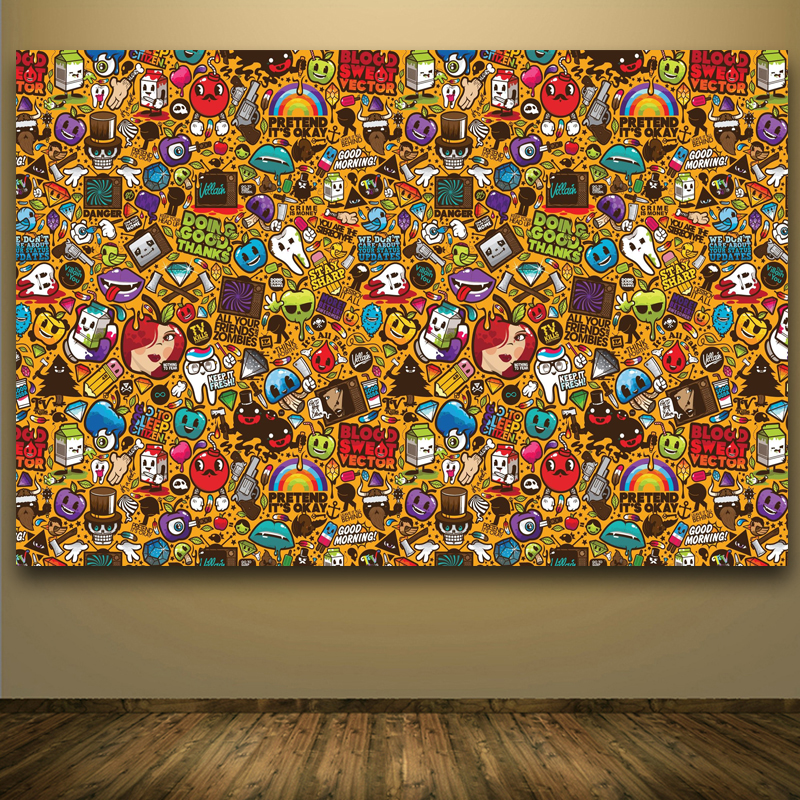 Pop Kunst Wand Aufkleber Und Bilder Wohnkultur Moderne Andy Warhol