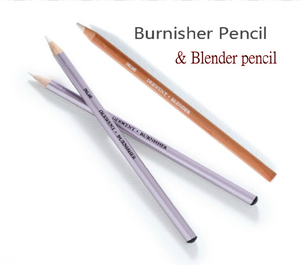 Colorless blender pencil burnisher pencil special pencil drawing sketch pencil