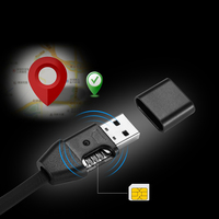 1m USB Charging Data Cable For GPS Locator GPS Positioning Pick Up Line Tracker Remote Tracking