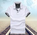Men's shirt factory direct men's short-sleeved polo shirt lapel male  men polo shirts wholesale