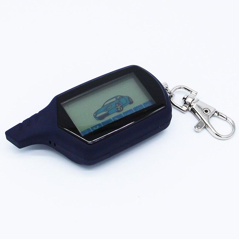 Starline A91 bidirezionale LCD Remote Control Key Fob Catena Keychain Russo di Sicurezza Del Veicolo Auto Sistema di Allarme Bidirezionale Starline A91