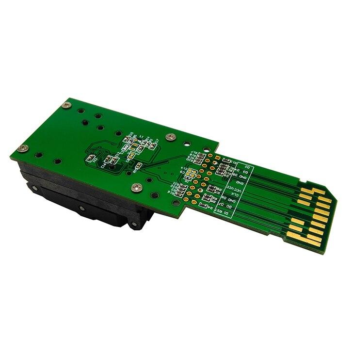 EMCP162/186 lecteur testeur à clapet prise BGA162/186 programeur de récupération de données pour kit de bricolage électronique emmc outils de réparation de téléphone - 5
