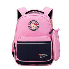 New Orthopedic Kids Backpack for Girls Princess Waterproof Schoolbags Bookbags Children Capacity Primary Escolar Satchel Mochila