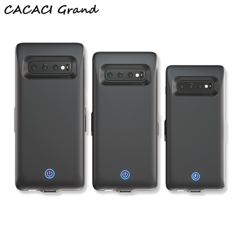 New 7000mah Charger Battery Case for Samsung Galaxy S10 S10e Portable Back Clip Power Wireless Charger for Galaxy S10 plus CoverNew 7000mah Charger Battery Case for Samsung Galaxy S10 S10e Portable Back Clip Power Wireless Charger for Galaxy S10 plus Cover