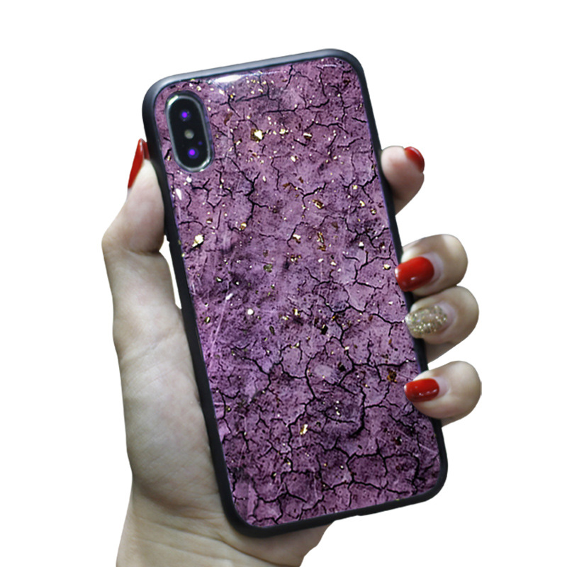 For iPhone XS Max Cover UYFRATE Shiny Glitter Marble Gold Foil TPU Case For iPhone XS Max XR XS X 8 8 Plus 7 7Plus 6 6S Plus