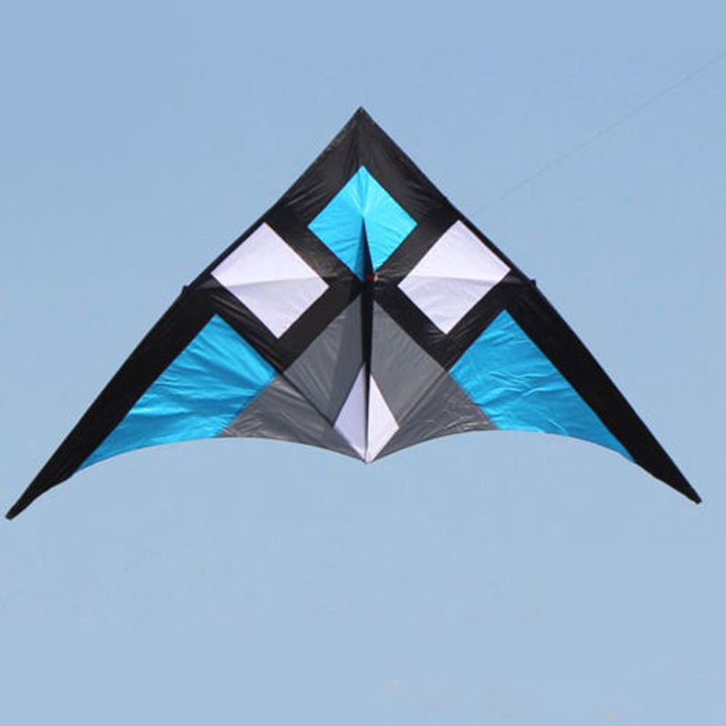 9.5ft opéra Delta cerf-volant grande ligne simple en Nylon cerf-volant pour adultes Sports de plein air jeu de vent amusement en famille
