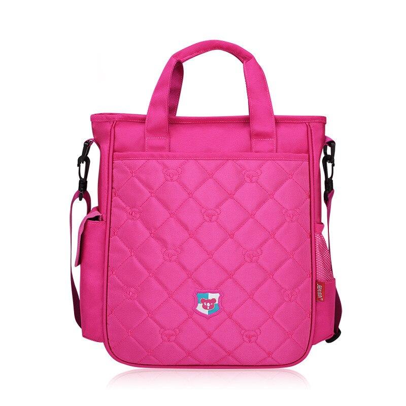 В Корейском стиле одно плечо школьные сумки для девочек детей Crossbody сумка розовый рюкзак дети сумки школьные принадлежности подарок ...