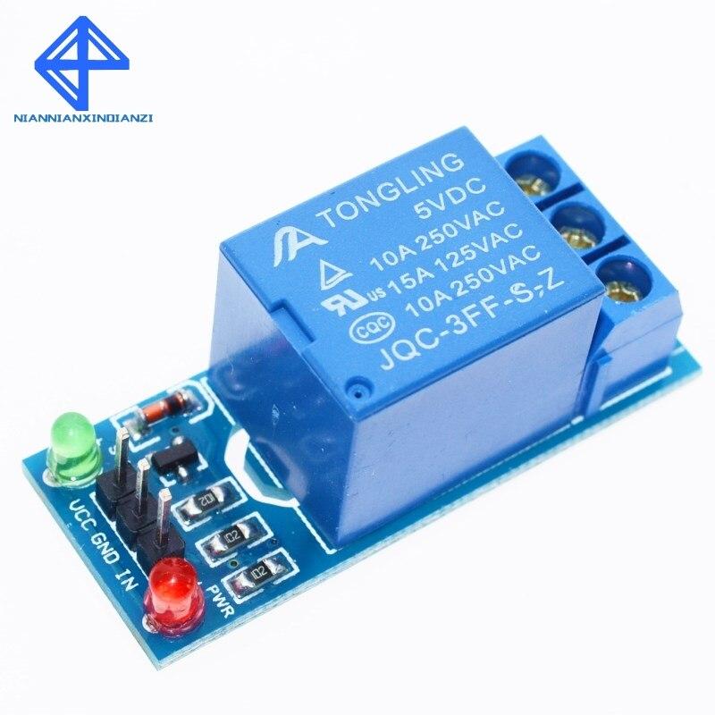1 шт. 5 в низкоуровневый триггер Один 1-канальный релейный модуль Интерфейсная плата щит для PIC AVR DSP ARM MCU