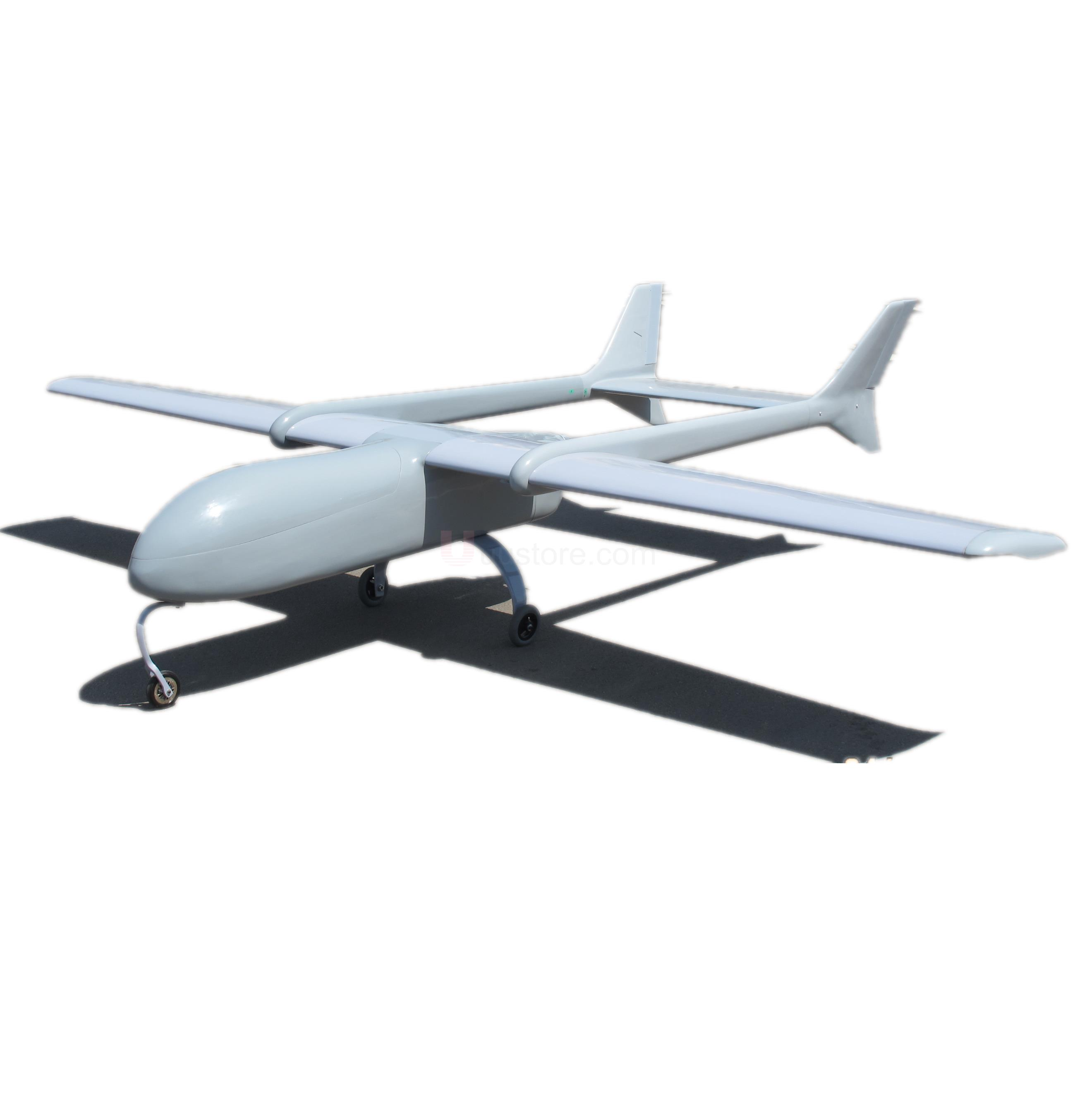 Skyeye 4450mm Super Huge UAV (H)T-tail Plane Platform AircraftH T Tail FPV Radio Remote Control RC Model Airplane image