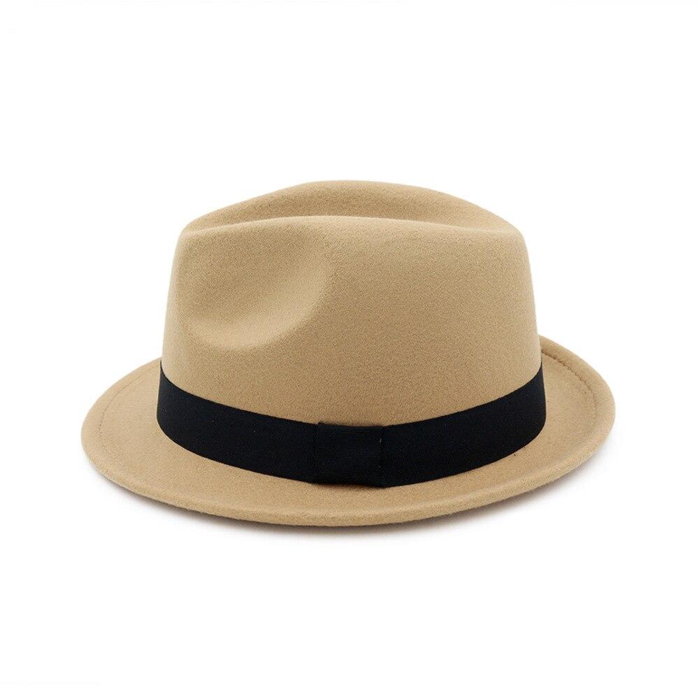 bb42cc5c8865b  AETRENDS 2017 Nuevo invierno sombrero Fedora sombrero hombres mujeres de  fieltro de lana de Jazz sombrero Vintage Panamá tapa Z 5951 en Sombreros de  ...