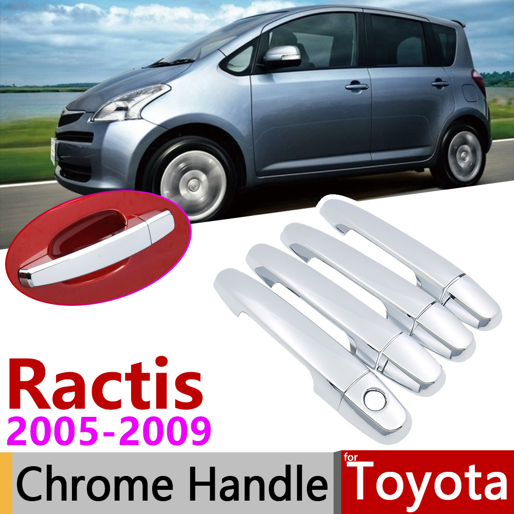 Car Exterior Chrome door handle cover For nissan NOTE 2004-2010
