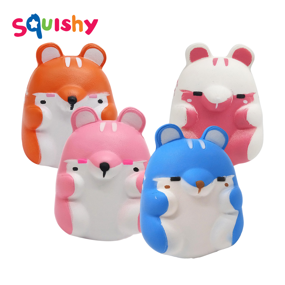 Squishy Fun Entertainmen Squish Hamster Antistress Novelty Gag Toys Anti Stress Stress Relief Surprise Popular Squeeze Jokes Toy