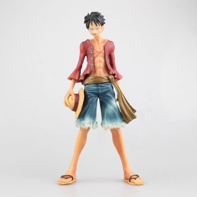 Toys & Hobbies Anime One Piece Monkey D Luffy Two Years Later First Generation Ver Pvc Action Figure Collectible Model Doll Toy 25cm