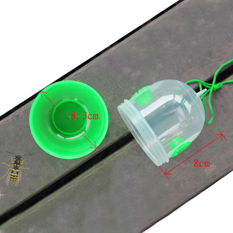 HTB1VB.2JY5YBuNjSspoq6zeNFXaX - Bee Trapper Pest Repeller Insect Killer Pest Reject Insects Flies Hornet Trap Catcher Hanging On Tree Garden Tools