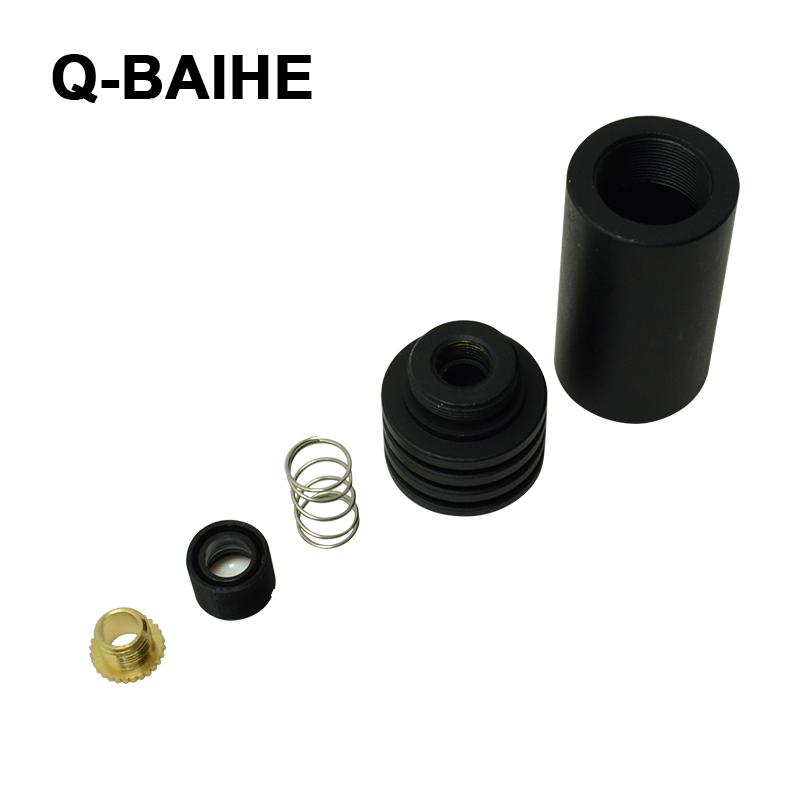 Q-BAIHE  18x45mm 5.6mm Laser Diode Housing W/ Glass Collim Lens For 635nm-650nm Diode Lasers