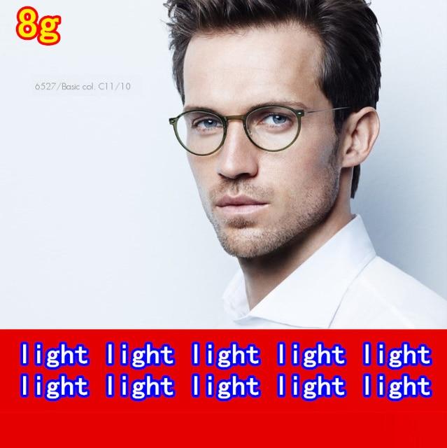 Retro Screwless glasses frame for women/men Extra Light eyeglasses Oliver People Oculos myopia reading eyewear original package