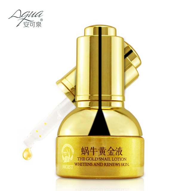 Skin Care Gold Snail Essence Day Cream Anti Wrinkle Face Anti Aging Collagen Whitening Moisturizing Liquid beauty hot sale