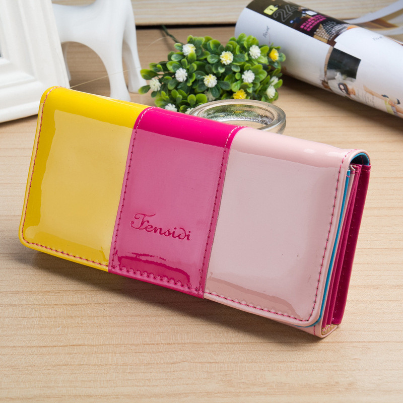 Kagome Fashion Wallet Women Luxury Female Carteira Feminina Wallets Ladies PU Leather Zipper Purse Card Holders Clutch Money Bag lykanefu fashion cross designer women wallets long women clutch purses ladies wallet purse female carteira feminina day clutches