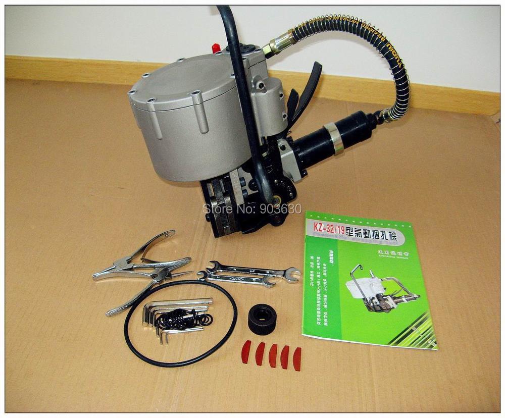 Pneumatyczne narzędzie do spinania taśm stalowych KZ-32, stalowa - Elektronarzędzia - Zdjęcie 1