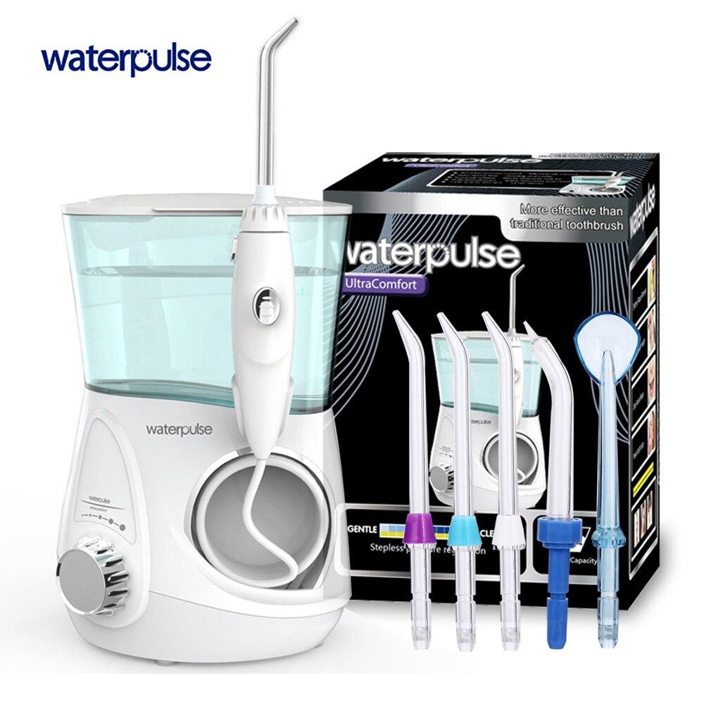 Импульс воды V600G зубные Flosser Ирригатор для полости рта 700 мл воды зубная нить зубная водная струя воды нить Палочки воды нить