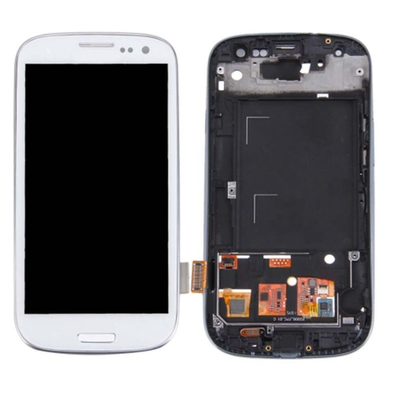NEW LCD Display Screen Replacement For Samsung Galaxy S3 i9300 i9305 Touch Digitizer +Frame + Repair Tools White