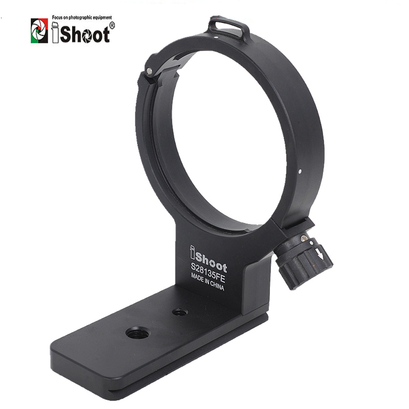 iShoot Lens Support Collar for Sony FE PZ 28-135mm f/4 G OSS Tripod Mount Ring Replacement Base Foot Stand Arca RRS CompatibleiShoot Lens Support Collar for Sony FE PZ 28-135mm f/4 G OSS Tripod Mount Ring Replacement Base Foot Stand Arca RRS Compatible