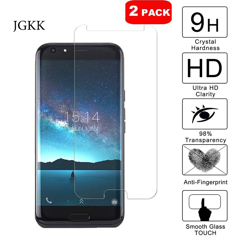 2Pcs Tempered Glass For Doogee BL5000 BL6000 BL7000 BL9000 BL12000 Pro Screen Protector 2.5D Phone Protective Anti Scratch Film