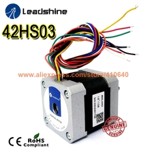 Free Shipping GENUINE Leadshine step motor 42HS03 Series current 0.7 A NEMA 17 with 67 Oz-in (0.47 Nm) torque