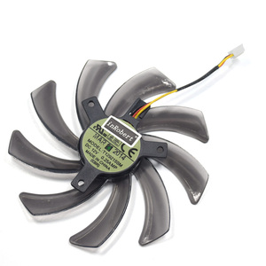 Image 3 - Reemplazo del ventilador del refrigeración para Gigabyte HD 7850 Radon R9 270 GTX 670 650 660Ti 550 tarjeta gráfica PLD10010S12H, 95MM, T129215SM