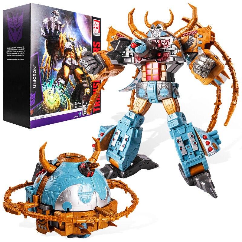 Authentic Hasbro Children's Treasure Transformers Platinum Version of The Universe Great Counter Authentic C1222