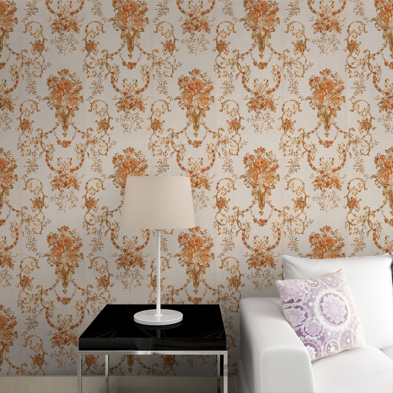 beibehang mural Rose flower gold foil wallpaper gold embossed background wall wallpaper roll classic flower wall papers floral luxury modern gold foil embossed flower reflective eco friendly wallpaper roll backdrop tv background wall paper floral