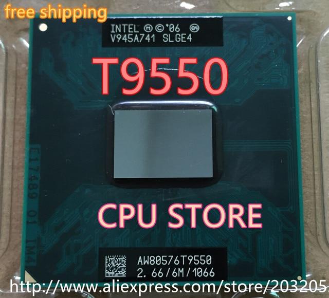 lntel CPU laptop Core 2 Duo T9550 CPU 6M Cache/2.66GHz/1066/Dual-Core Socket 479GM45/PM45  can  work