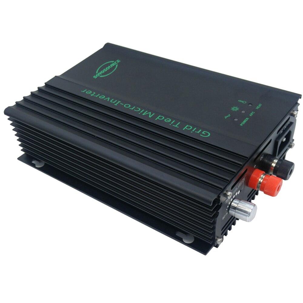 micro inversor grid tie 600w inversor para 24v 36v 48v 60v 72v 96v bateria inversor de